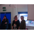 An opportunity for staff to chat to parents
