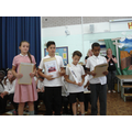 Presentation of Leavers' Gifts, Certificates etc