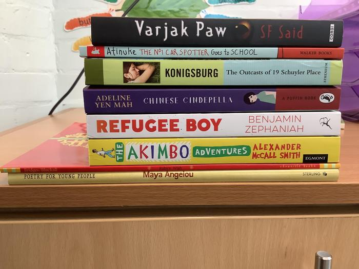 Our library now had books from different cultures
