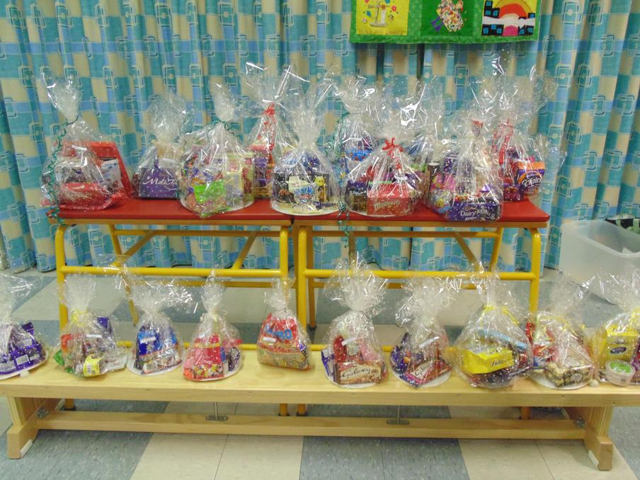 Lots of lovely Hampers to win
