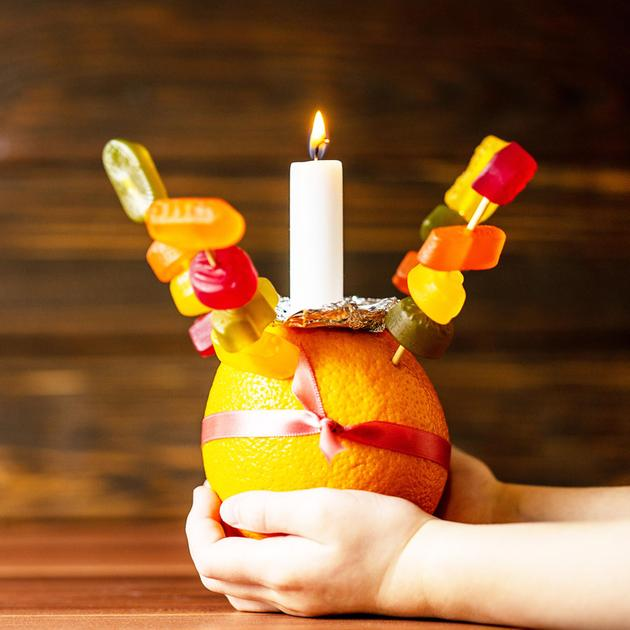 This year all the children celebrated Christingle
