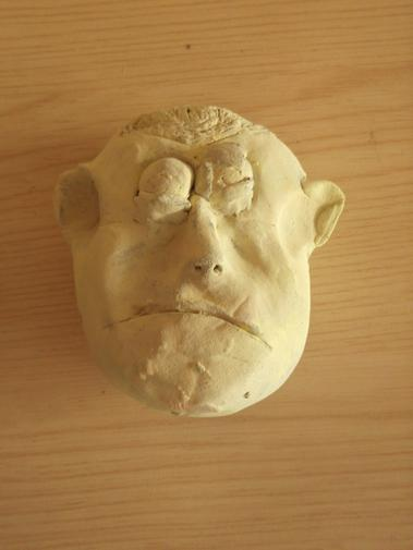 We made Roman emperor busts from clay!