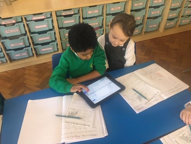Using IPADs in our lessons!