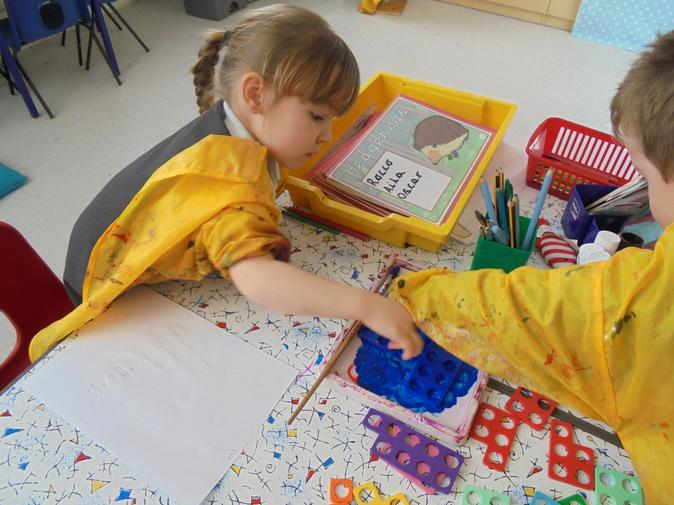 Counting in the creative area!