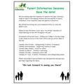 Parent Information Sessions