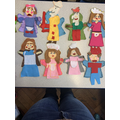 Year 5 Punch and Judy puppets