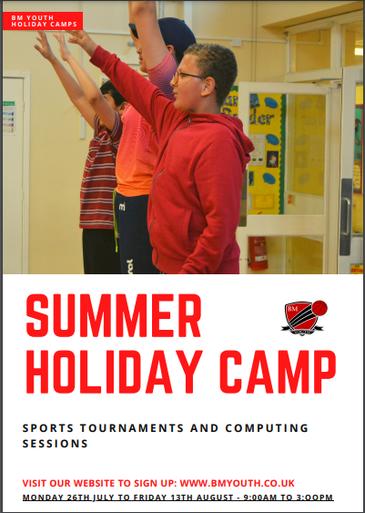BM Youth Summer Holiday Camp