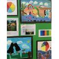 Year 3 Art display