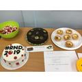 Staff unique cake entries.