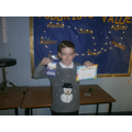 Howard, our accelerated reader winner.
