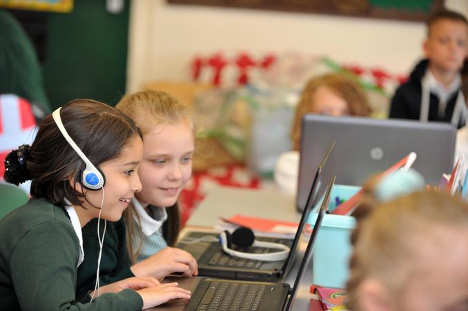 "Year 5 have used ""Audacity"" to make music"