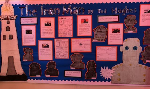 We loved reading 'The Iron Giant' by Ted Hughes!