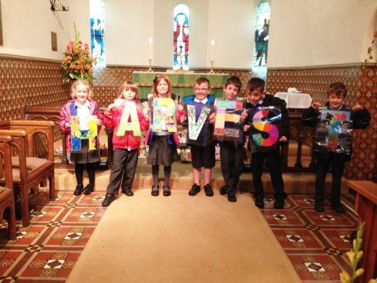 Harvest Festival at St Leonard's Church