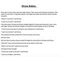 Shrew Babies, by Martha