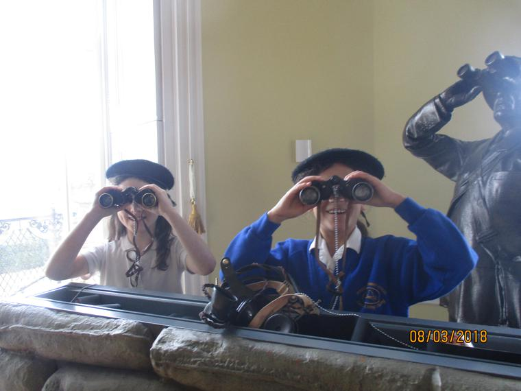 Maple class learned about the Battle of Britain