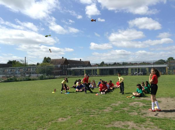 Y3 Sports Competition run by our sports leaders