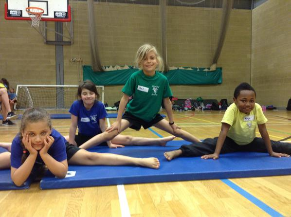 Year 3 and 4 Gymnastics Competition