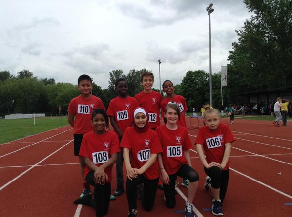 Quadkids at Perivale Athletics Track
