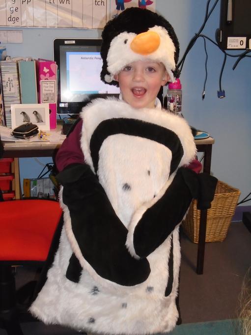 Can we dress like a penguin?
