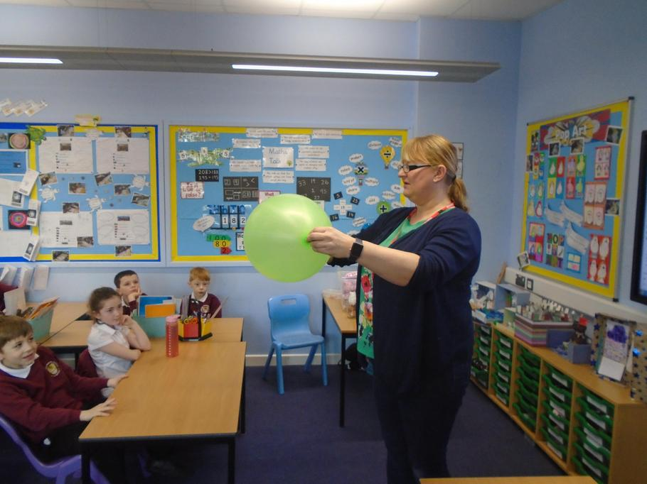 Can you make the penny inside the balloon spin?