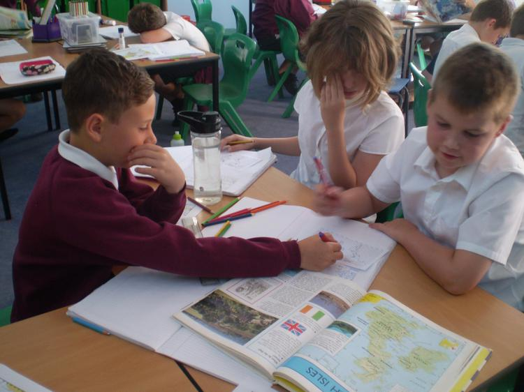 We were using coordinates to locate major cities.