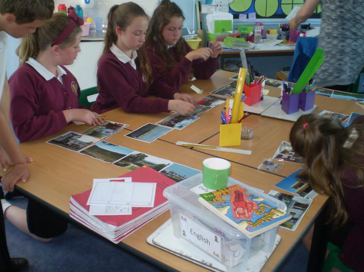 We looked at photographs of Vera Cruz in Mexico.