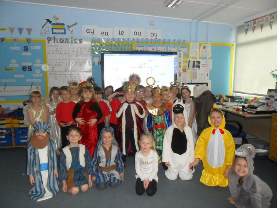 The children really enjoyed performing!