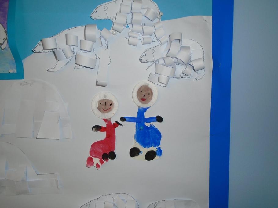 Eskimo feet!