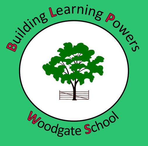 BLP at Woodgate School Logo