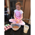 Grace has been baking some yummy looking cakes!
