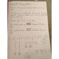 Archie's maths work