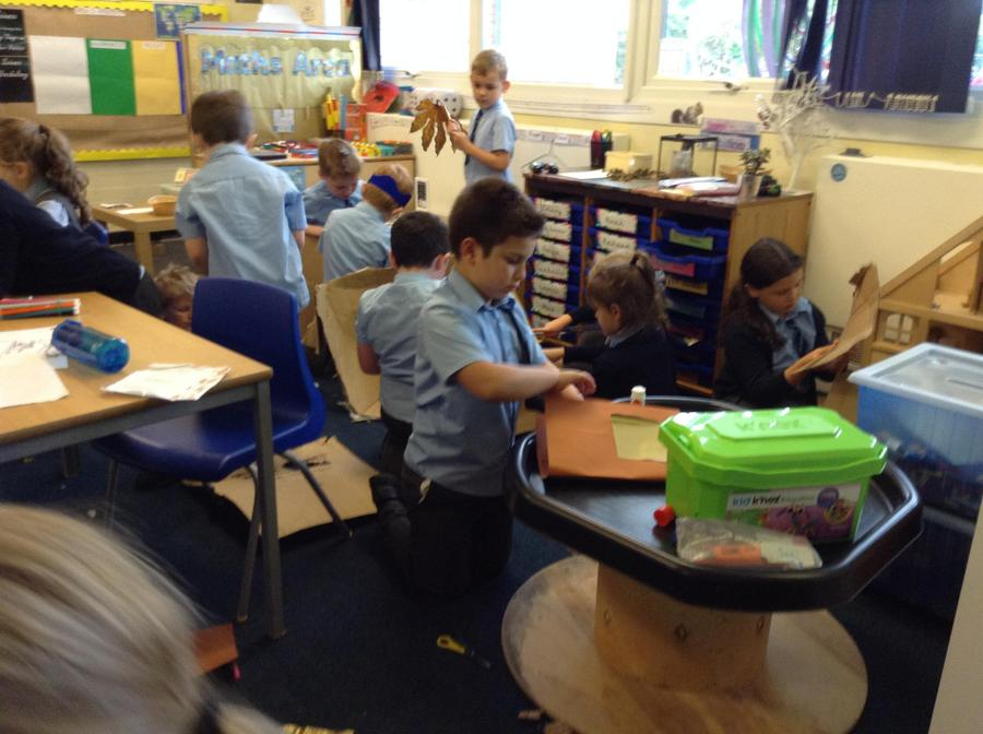 Our busy classroom