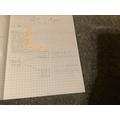 Isabelle's maths work