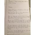 Archie's literacy work