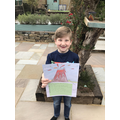 Great volcano poster Finlay!