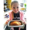 Sophia's lemon drizzle cake