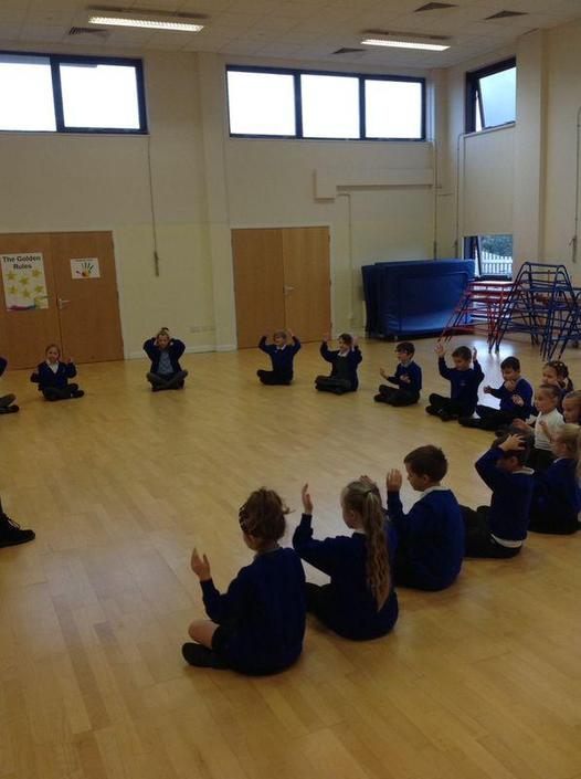 Today we learnt about the musical pulse