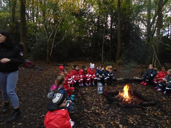 Making a fire linked to the Great Fire of London