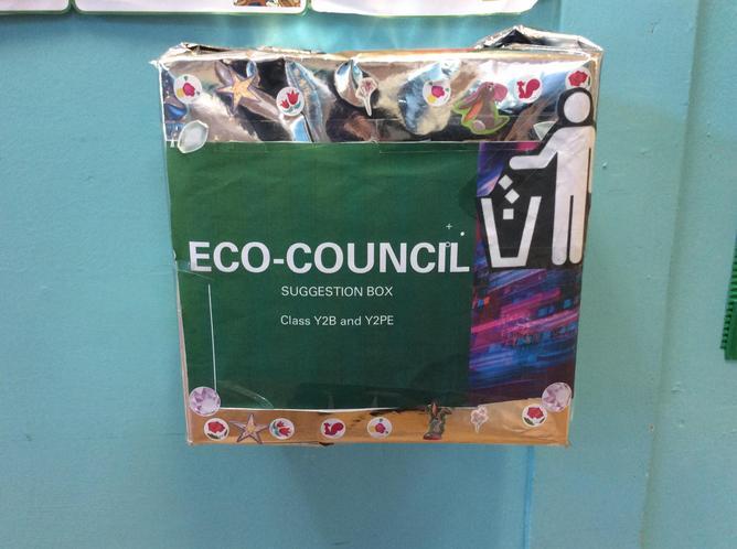 Eco Suggestion box