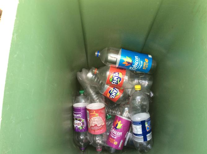 Bottles we've collected so far!