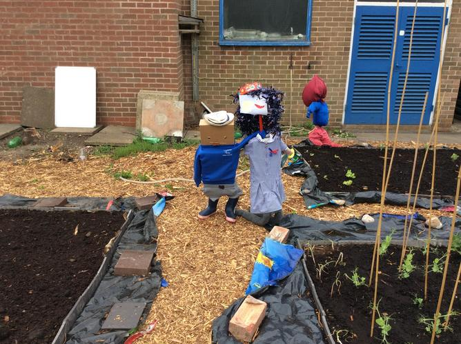 Year One's Scarecrows