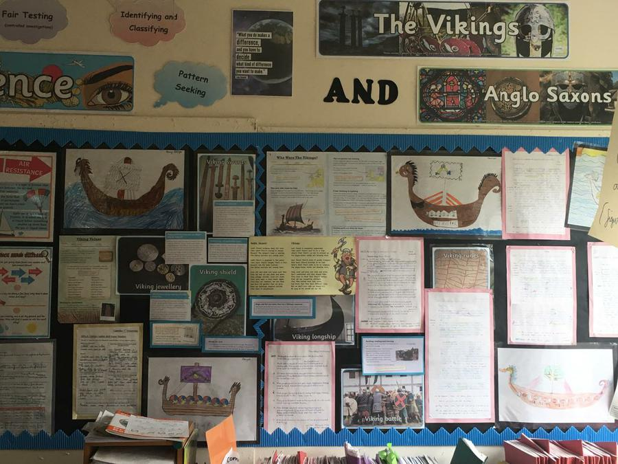 Saxons and Vikings Project Year Five