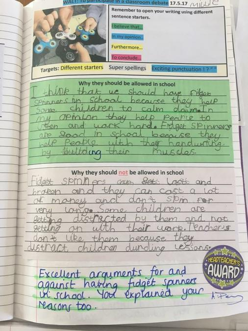 Persuasive Writing Year Two