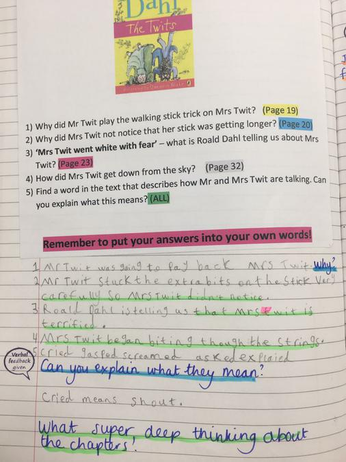 Using Books to Inspire Writing