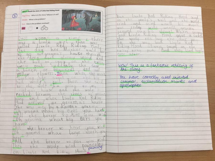 Retelling of Traditional Tales