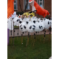 Some of the other school's lanterns
