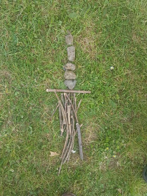 Year Two Andy Goldsworth Project
