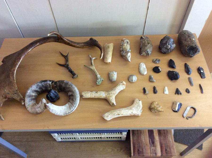 Stone Age Workshop Year Three