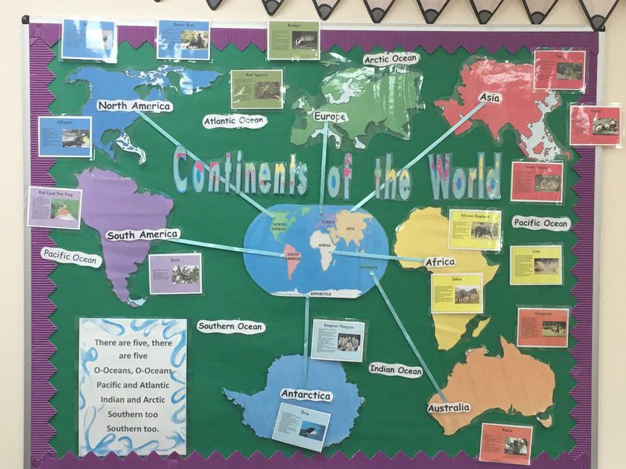 Continents Year One