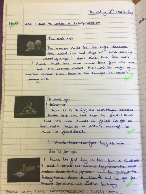 Using Film to Develop Creative Writing Year Six